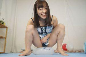 性欲の妖精もえの風船性遊紀 ロリ美少女が風船オナニーで潮吹き昇天